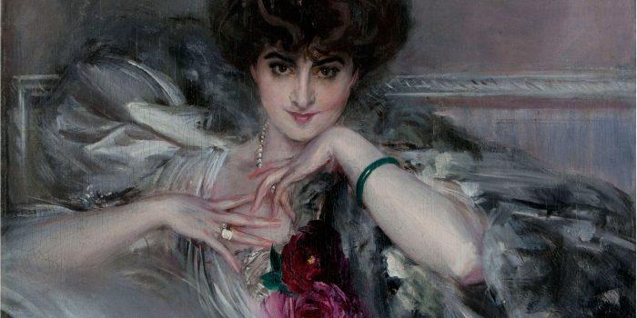 Le donne e le rose di Giovanni Boldini