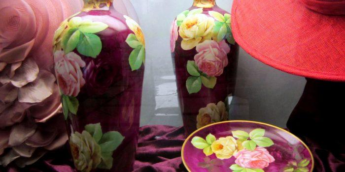 Le Rose Art Nouveau nelle porcellane Richard Ginori